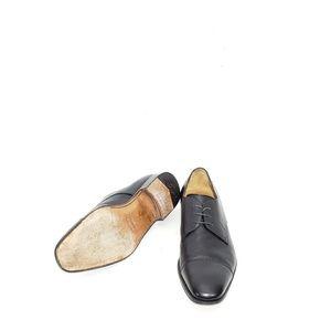 Salvatore Ferragamo Shoes - Salvatore Ferragamo Mens Cap Toe Oxfords Lace Up